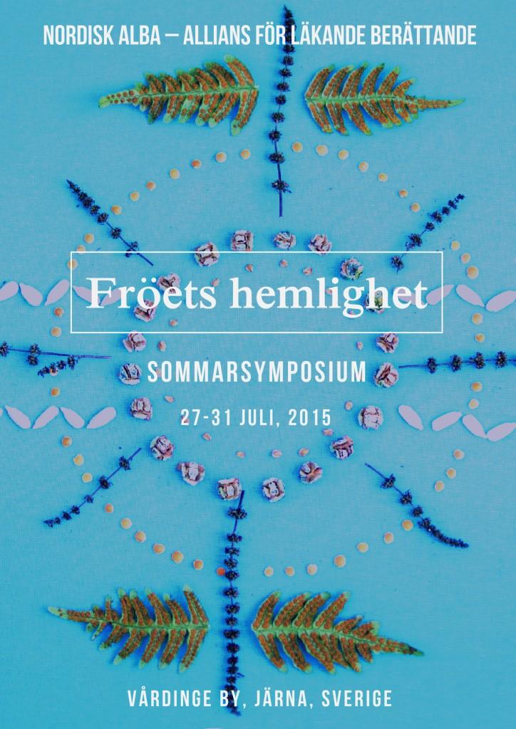 Affisch Fröets hemlighet 2015