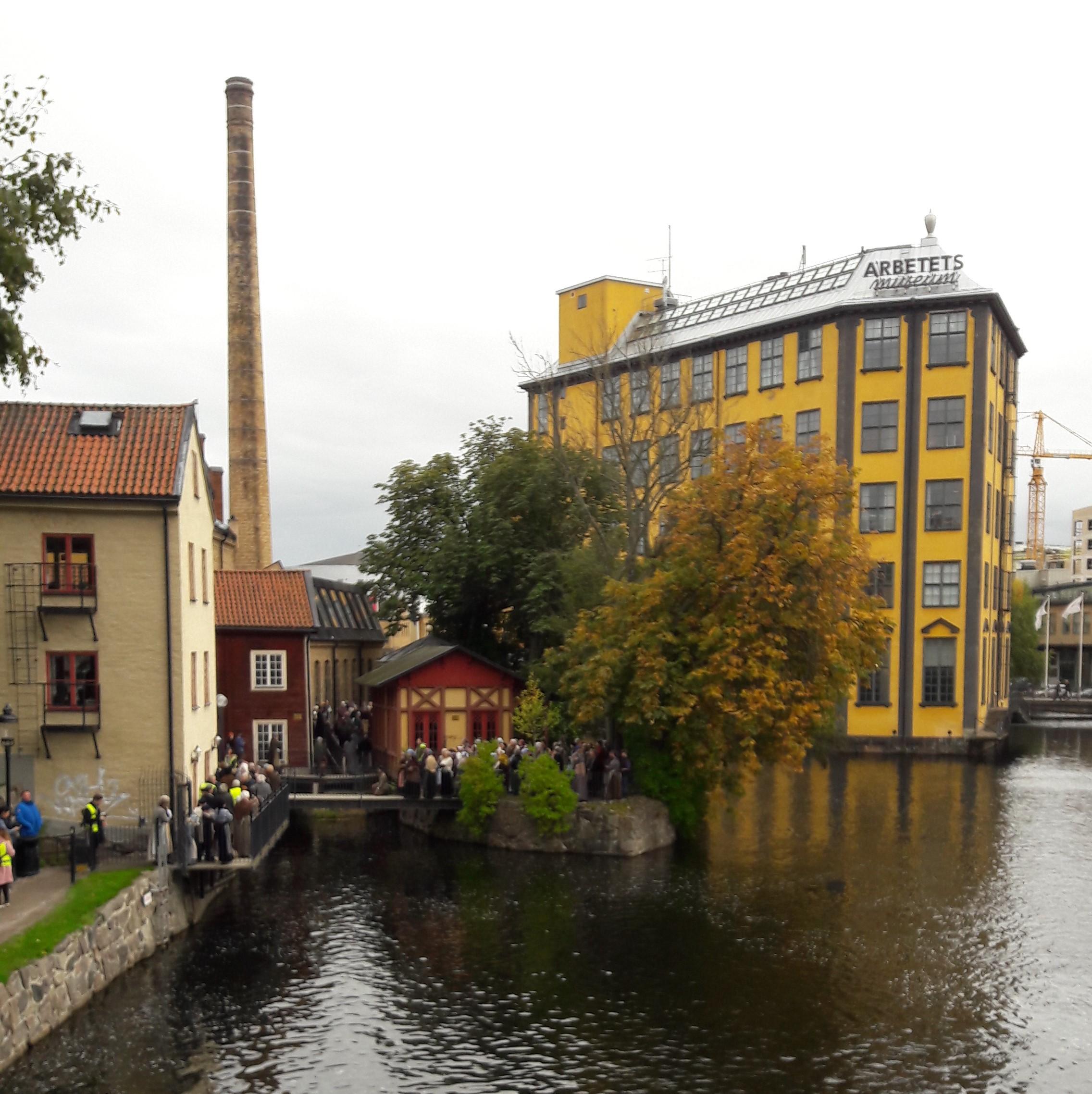 2017-10-07 Norrköping strykjärnet Moa-filmning